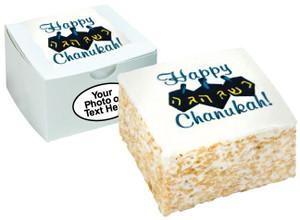 HANUKKAH - Marshmallow Crispy Cake