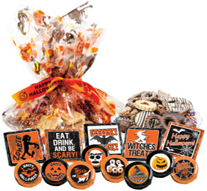 "HALLOWEEN - ""Cookie Talk' Message Platters"