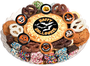 HALLOWEEN COOKIE PIE & ASSORTMENT PLATTER