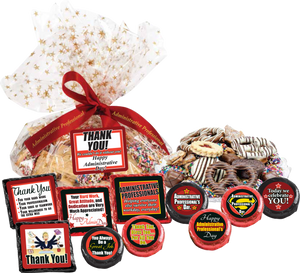 "ADMINISTRATIVE DAY - ""Cookie Talk' Message Platters"