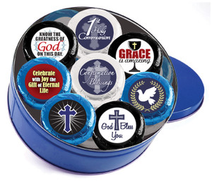 COMMUNION/ CONFIRMATION 'Cookie Talk Chocolate Oreos - 16 Pc Tin'