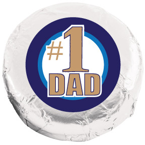 FATHERS DAY CHOCOLATE OREOS - Foil-Wrapped w/ Messages