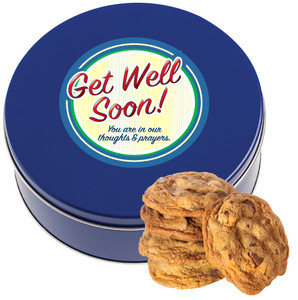 GET WELL Chocolate Chip Cookie Tin - 1 lb.
