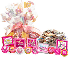 "BABY GIRL - ""Cookie Talk' Message Platters"