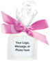This is the version in a favor bag with ribbon. It also comes in a sealed bag with no ribbon.