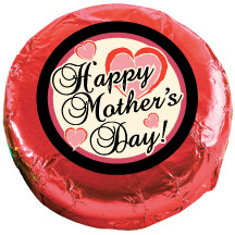 MOTHERS DAY Chocolate Oreos - Foil-Wrapped with Messages/ Graphics  MANY SIZES AVAILABLE!