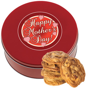 MOTHERS DAY Chocolate Chip Cookie Tin - 1 lb.