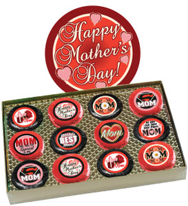 "MOTHERS DAY - ""COOKIE TALK"" CHOCOLATE OREO  12 Pc. BOX"