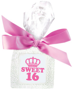 SWEET 16 CUSTOM PRINTED CHOCOLATE GRAHAMS - SPECIAL ORDER