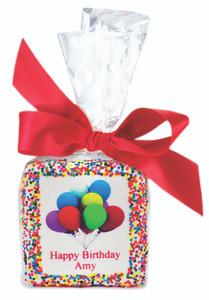 SWEET 16 Custom Printed Chocolate Graham Cookies SPECIAL ORDER