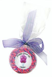 SWEET 16 - Custom Printed Chocolate Oreo Cookies SPECIAL ORDER