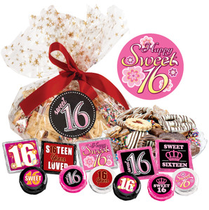 "SWEET 16  ""COOKIE TALK"" MESSAGE PLATTERS"