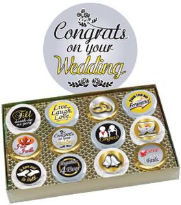 "WEDDING ""COOKIE TALK"" CHOCOLATE OREO GIFT BOX"