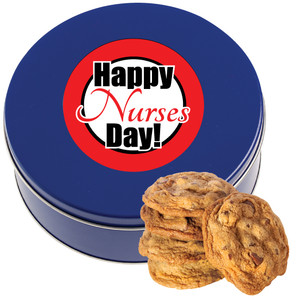 NURSES DAY Chocolate Chip Cookie Tin - 1 lb.