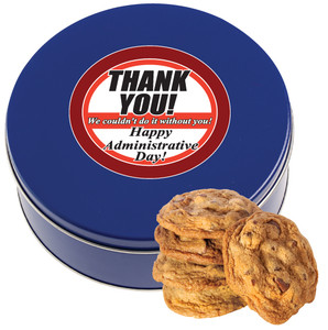 ADMINISTRATIVE PROFESSIONAL'S DAY Chocolate Chip Cookie Tin - 1 lb.