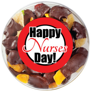 NURSE APPRECIATION CHOCOLATE DIPPED DRIED MIXED FRUIT