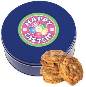 EASTER/ SPRING Chocolate Chip Cookie Tin - 1 lb.