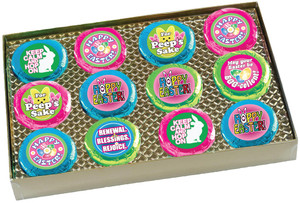 "EASTER/ SPRING  ""Cookie Talk"" Oreo Assortment - 12 Message Cookies in Gift Box"