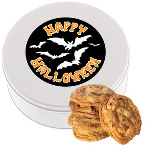 HALLOWEEN Chocolate Chip Cookie Tin - 1 lb.
