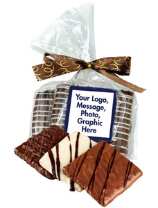 FAVORS/ BUSINESS GIFTS  CHOCOLATE GRAHAM DUO IN FAVOR BAG