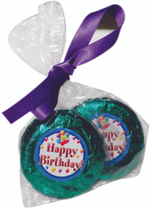 FAVOR - Custom Chocolate Oreo Duo - Foil Wrapped