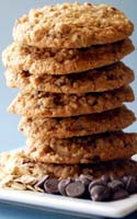 Chocolate Chip  Oatmeal Cookie (No Nuts)