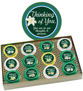 "THINKING OF YOU ""COOKIE TALK"" CHOCOLATE OREO GIFT BOX"