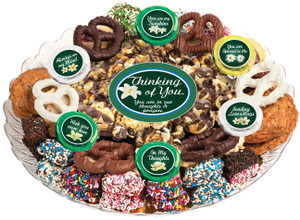 THINKING OF YOU- Gourmet Popcorn & Cookie Assortment Platters