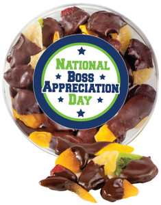 BEST BOSS CHOCOLATE DIPPED DRIED MIXED FRUIT