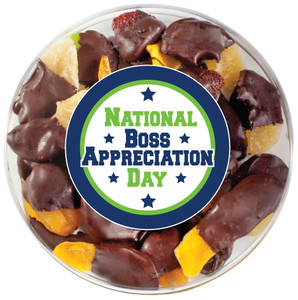 BOSS APPRECIATION - Chocolate Dipped Dried Mixed Fruit