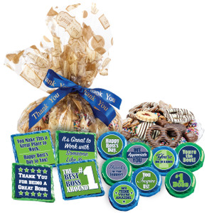 "BOSS'S DAY - ""Cookie Talk' Message Platters"