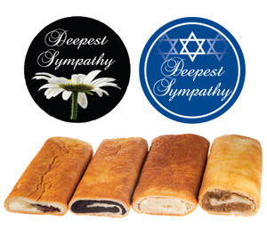 SYMPATHY/ SHIVA NUT ROLLS & MORE (CAN BE CUSTOMIZED)