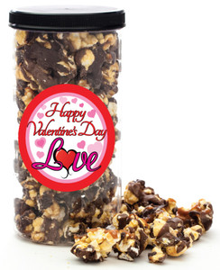 VALENTINE'S DAY GOURMET POPCORN - Canister (Customize with any Text, Photo, Logo)