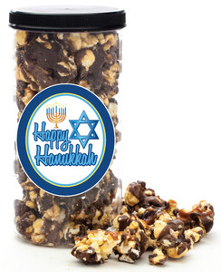 HANUKKAH GOURMET POPCORN - Canister (Customize with any Text, Photo, Logo)