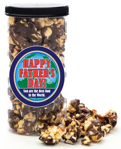 FATHER'S DAY GOURMET POPCORN - Canister (Customize with any Text, Photo, Logo)