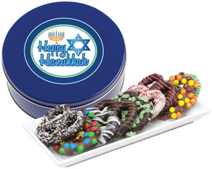 HANUKKAH GOURMET PRETZEL ASSORTMENT - Customization Available