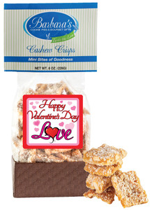 VALENTINE'S DAY - Cashew Crisps - Can Be Customized!