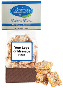 BUSINESS -TO-BUSINESS - Cashew Crisps - Can Be Customized!