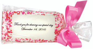 WEDDING/ SHOWER CUSTOM FAVOR - Full Graham Direct Print Cookie  - Your Logo, Message, Photo, Graphic - SPECIAL ORDER