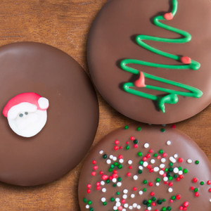 CHRISTMAS Decorated Chocolate Oreos - MANY SIZES AVAILABLE!
