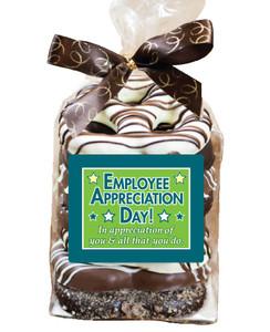 EMPLOYEE APPRECIATION  Gourmet Pretzel Bag - 8 Pc.- Can Be Customized