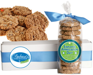 EMPLOYEE APPRECIATION FRESH-BAKED CRUNCHY & HEARTY COOKIES - 4 Varieties