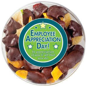 EMPLOYEE APPRECIATION - Chocolate Dipped Dried Mixed Fruit