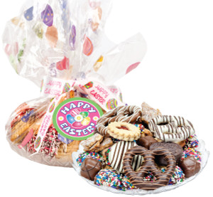 EASTER COOKIE ASSORTMENT SUPREME - Cookies, Pretzel & Candy