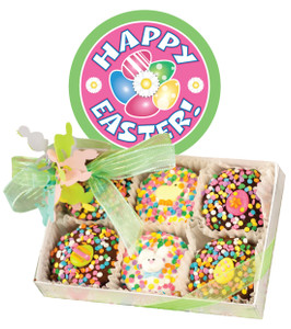 EASTER  Decorated Chocolate Oreos - 6 Pc Box