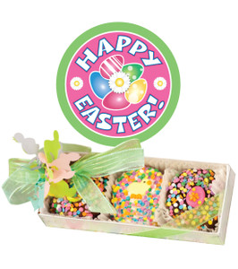 EASTER Decorated Chocolate Oreos - 3 Pc Box