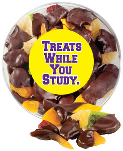 BACK-TO-SCHOOL CHOCOLATE DIPPED DRIED MIXED FRUIT