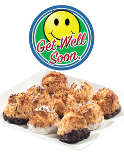 GET WELL COCONUT MACAROONS - Many Sizes /Package Options Available