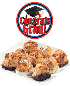 GRADUATION COCONUT MACAROONS - Many Sizes /Package Options Available