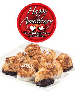 ANNIVERSARY COCONUT MACAROONS - Many Sizes /Package Options Available